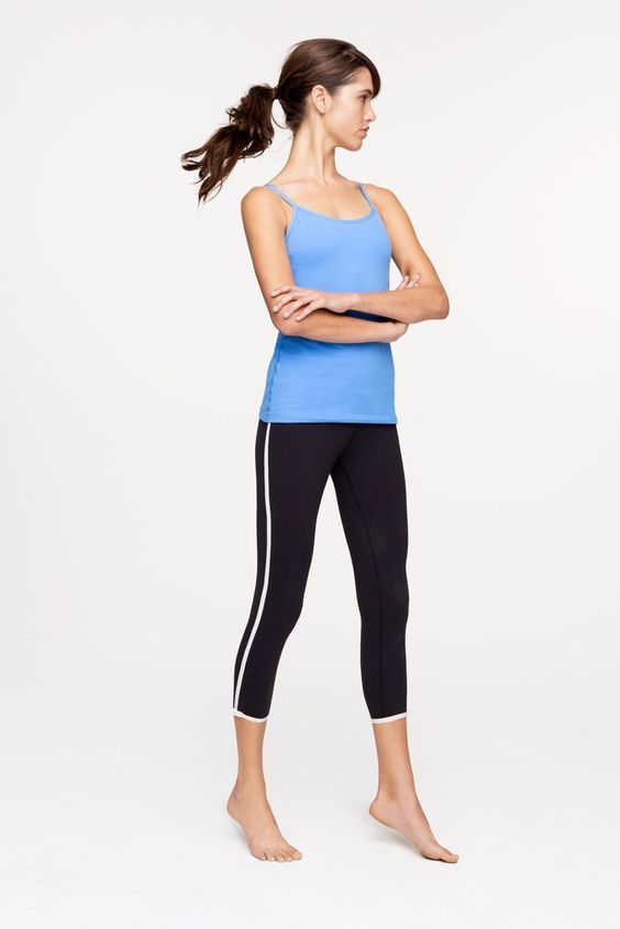 How cute is the Kate Spade activewear collection? The brand partnered with Beyond Yoga to create a sporty-meets-feminine 27-piece Summer collection. In true Kate Spade fashion, black-and-white polka dots and bows are featured throughout.