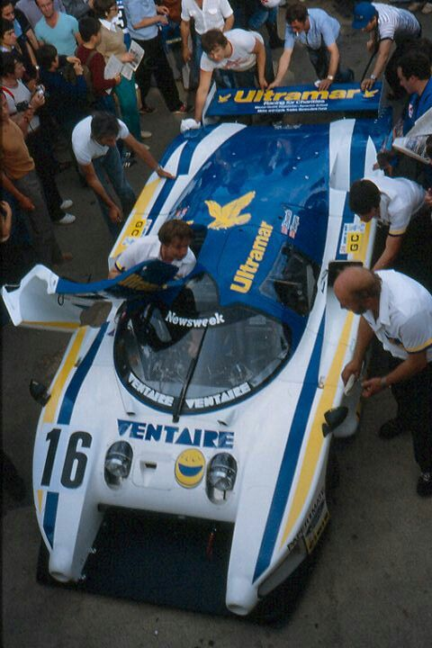 Lm 82 Lola T610 Ford Edwards Keegan Faure Dnf After 72