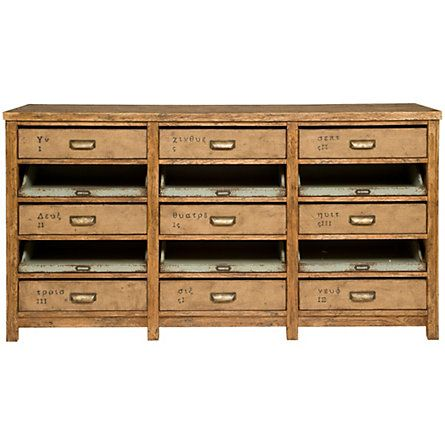 Terrain Nine Drawer Console #shopterrain