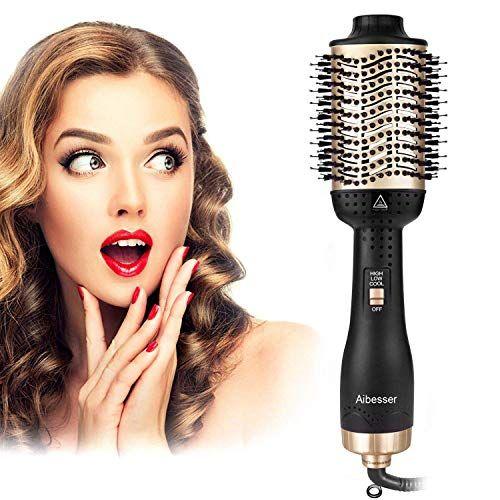 Aibesser One Step Hair Dryer Volumizer Hot Air Brush B Https Www Amazon Com Dp B07y4vxhvh Ref Cm Sw Hair Dryer Brush Hair Dryer Styler Anti Frizz Hair