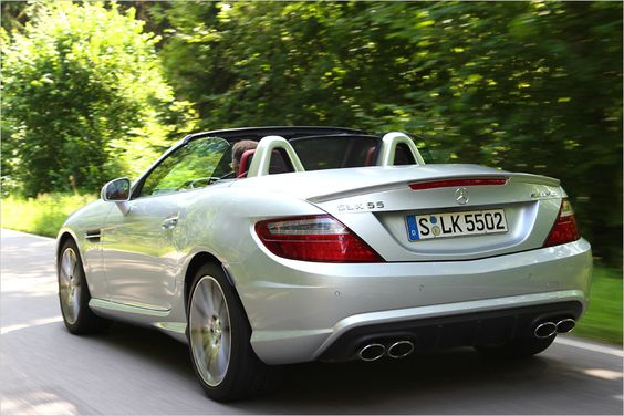 7º lugar: 421 hp Mercedes SLK 55 AMG