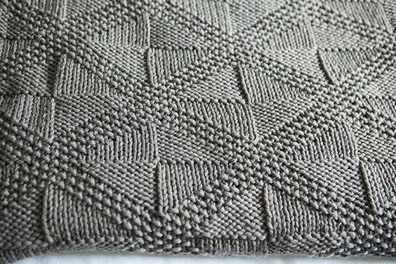 Knitting Pattern For Star Blanket : Star Dust Blanket - Knitting Patterns and Crochet Patterns ...