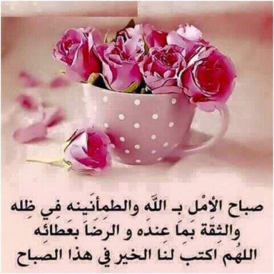 باقات صباح الخير وصور صباحية مكتوب عليها عبارات حب موقع مصري Tea Cups Glassware Tea