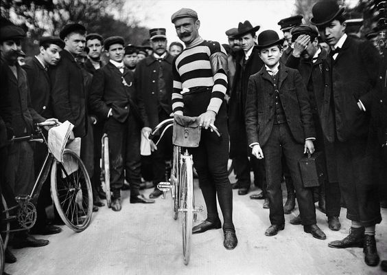 """1904: Hippolyte Aucouturier won the second running of the Tour de France, but was then disqualified because he had made deals with many of the 87 riders who participated in the race. The competition, even then, was filled with controversy. """"The Tour de France has ended, and I fear that the second running will be the last, wrote Henri Desgrange, founder of the Tour, in a piece for the publication L'Auto."""