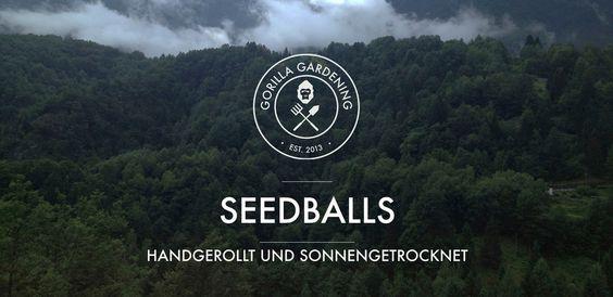 Gorilla Gardening Seedballs