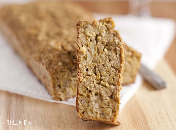 Fruitcake with porridge and a pumpkin_1