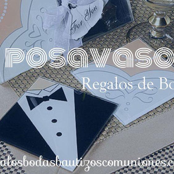 #posavasos #regalosbodas2015