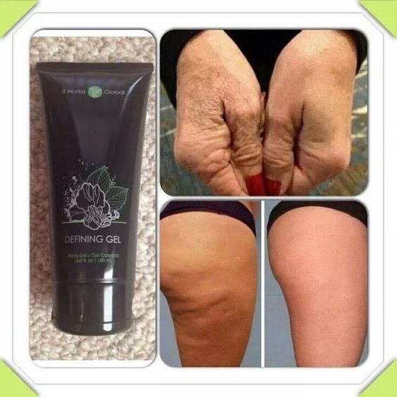 Do you have #dry #cracked #chapped #skin? Defining Gel deeply #hydrates and #nourishes while #enhancing your skins #natural #beauty. #moisturize #deephydrating #liquidgold #firming #cellulite #vericoseveins #cottagecheese #thighs #legs #hands #neck #body