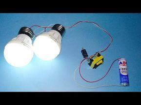 Cara Menyalakan Lampu 220v Dengan Baterai 3v Jt Sederhana Youtube Electronics Projects