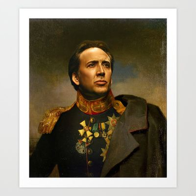 Buy Nicolas Cage - replaceface by Replaceface as a high quality Art Print. Worldwide shipping available at Society6.com. Just one of millions of products…