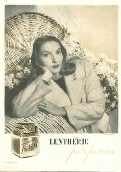 Lentheric Tweed Perfume (1945)