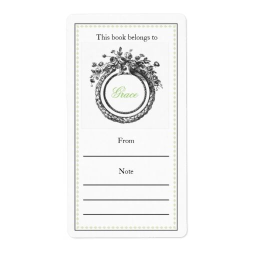 7 best Baby Bookplate Labels images on Pinterest Shipping label - shipping label