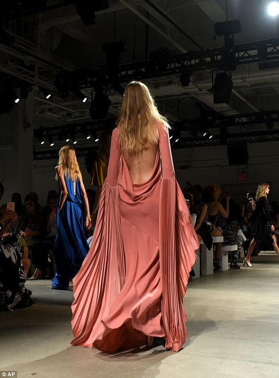 Gorgeous: The designer has worked with top talent including Michelle Obama, Kate…