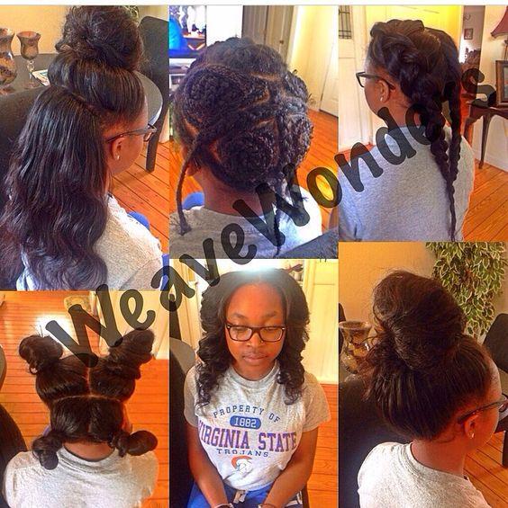 versatile weave hairstyles : Vixen sew in Versatile sew in Weave BLACK HAIRSTYLES Pinterest ...