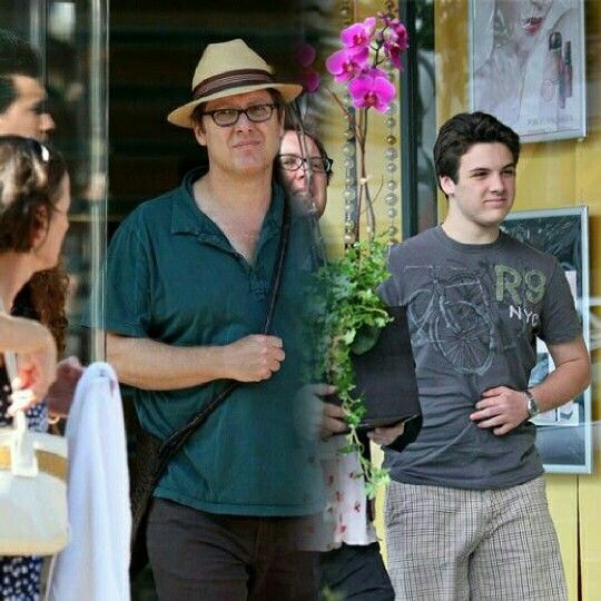 Photo of James Spader  & his  Son  Sebastian Spader