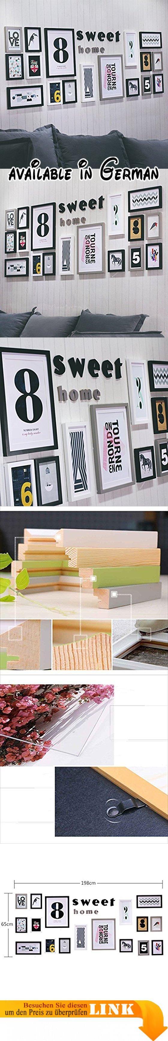 YMXLQQ Fotowand kreative Wohnzimmer Schlafzimmer Bilderrahmen ...