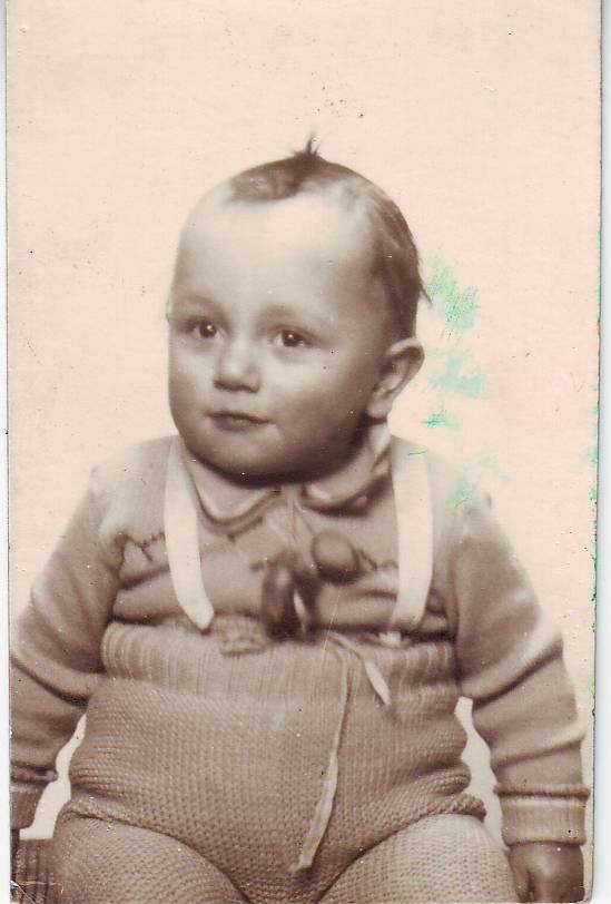 Bernard Laden was only 2 when he was sadly murdered at Auschwitz-Birenkau on August 16, 1942