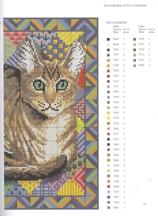 Gallery.ru / Фото #15 - JH_Needlepoint_Cats - Los-ku-tik