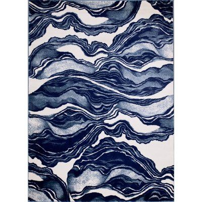 Kaia Gray Watercolors Area Rug Abstract Textures Patterns Artwork