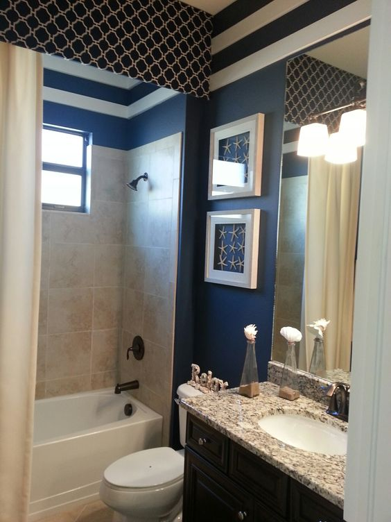 Lennar princeton model at bonita national bonita springs for Bathroom decor naples fl