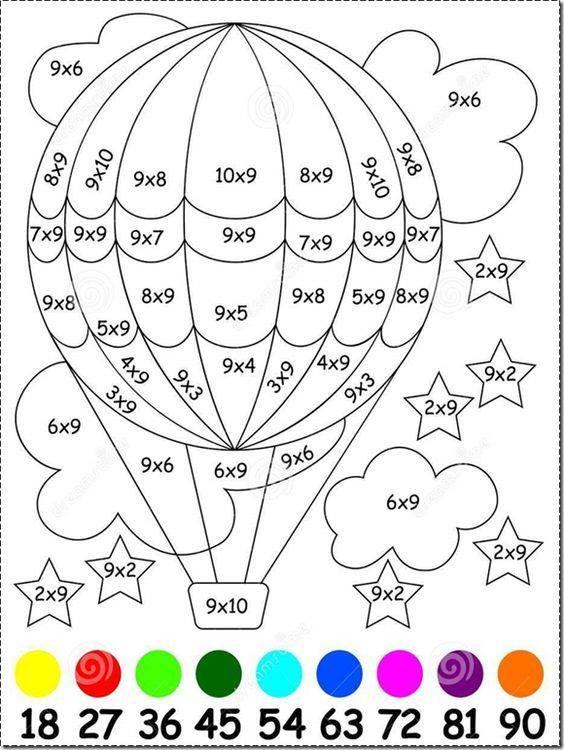 Tu Tarea Tablas De Multiplicar Matematicas Para Colorear Actividades De Multiplicacion Matematicas Tercero De Primaria