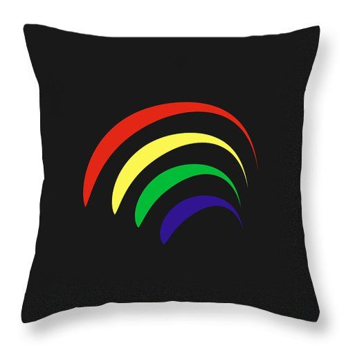 Rainbow Throw Pillow For Sale By Borja Robles Throw Pillows Pillow Sale Pillows