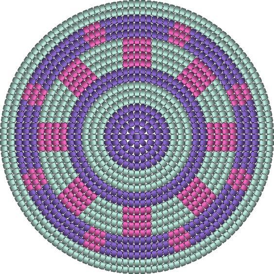 simple bottom mochila pattern wayuu haken crochet: