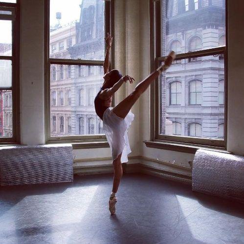 Dans la vie d'une ballerine new-yorkaise