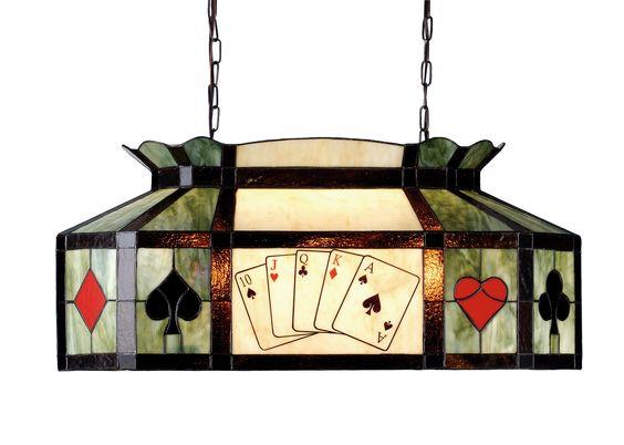 "33""L Texas Hold'Em Island/Billiard Oblong Pendant"