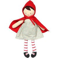 """little red riding hood doll...so sweet, Carolina might """"need"""" one of these. :)"""