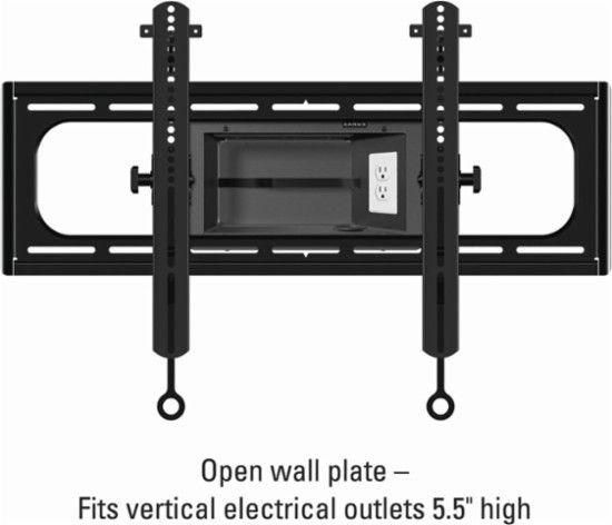 Sanus Elite Series Tilting Tv Wall Mount For Most 37 95 Tvs Black Front Zoom Tilting Tv Wall Mount Wall Mounted Tv Tv Wall