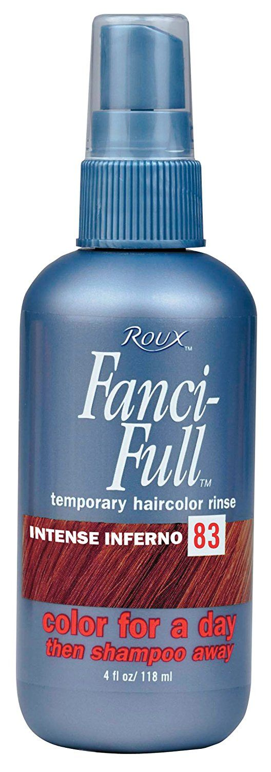 Roux Fanci-Full Temporary Hair Color Rinse Spray - -83 - Intense Inferno 4 oz. (Pack of 6) >>> You can get more details by clicking on the image.