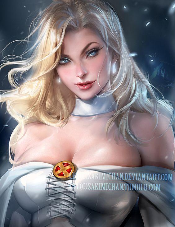 Emma Frost de X-Men