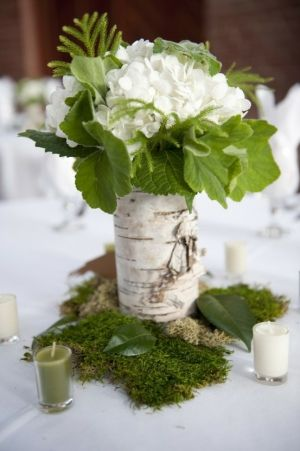 might need to toss some green mossy stuff on tables for color  15-PICESA-BEAUTIFUL-NATURAL-TOUCH-WEDDING-DECORATION--NATURAL-WOOD: