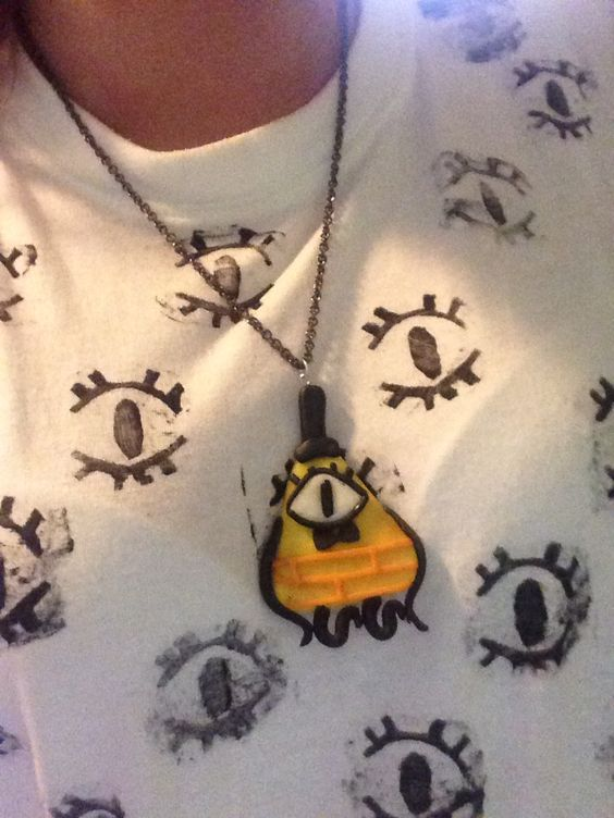 Made my own bill cypher inspired necklace and Top :)