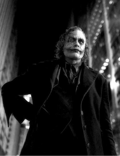 Heath Ledger's Joker - The Dark Knight (2008):