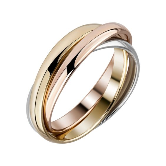 Russian wedding ring in 9 carat gold   hardtofind.