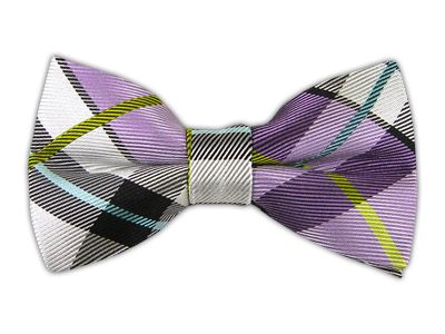 Grandiose Plaid - Lavender (Bow Ties)