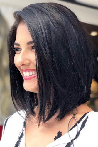 37 Cute Long Bob Haircuts For Beautiful Women 2018 Cute Haircuts Ideas Hair Styles Medium Hair Styles Front Lace Wigs Human Hair