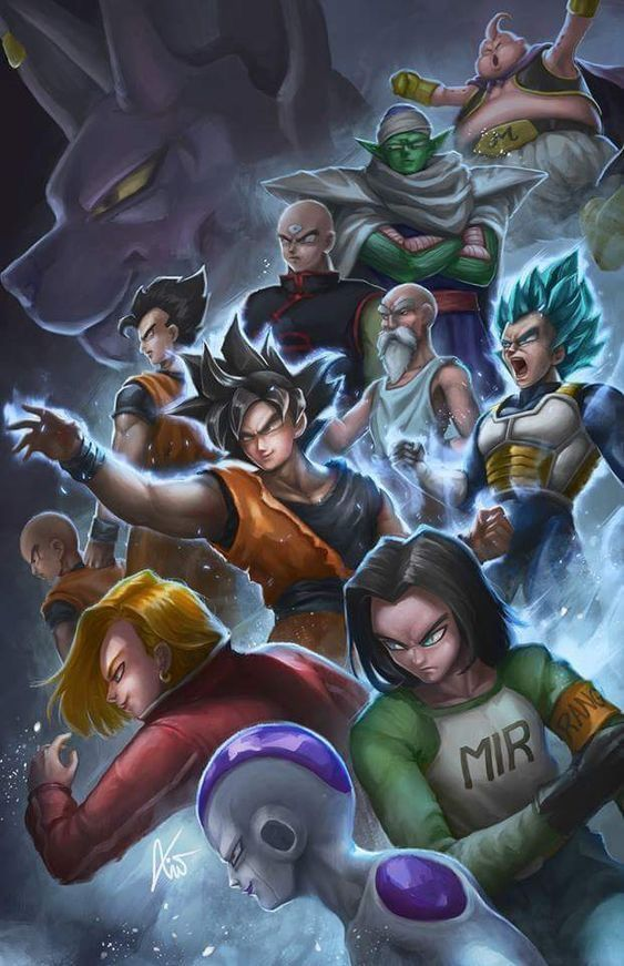 Universe 7 Team Anime Dragon Ball Super Dragon Ball Super Manga Anime Dragon Ball