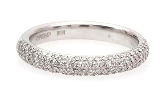 Diamond Engagement Rings Kite Pave Setting 30