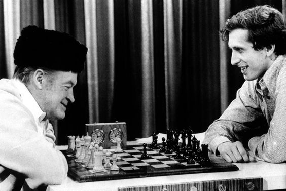 "Two Chess ""Bobs"" -- Bob Hope vs. Bobby Fischer!"