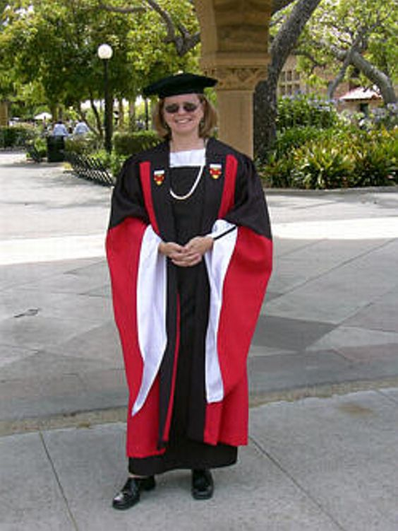 Stanford PhD Gown, Hood, & Cap for graduation. Official design ...