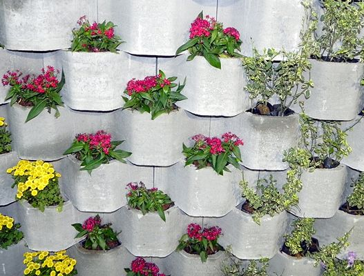jardins suspensos decoracao - Pesquisa Google