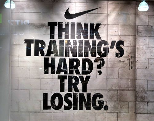Nike's quote of the day. Qotd. www.Colourfulrebel.com