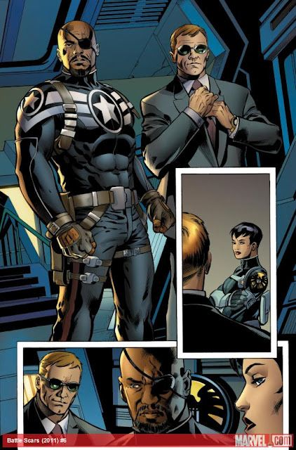 Marvel brings Agent Coulson and Sam Jackson to the comics