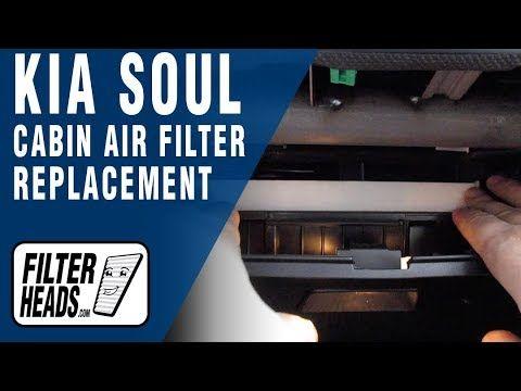 How To Replace Cabin Air Filter 2018 Kia Soul Kia Soul Cabin Air Filter Kia