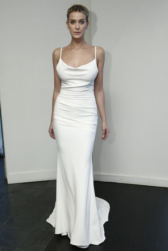 Nicole miller bridal fall 2015 fashion weeks nicole for Nicole miller dresses wedding