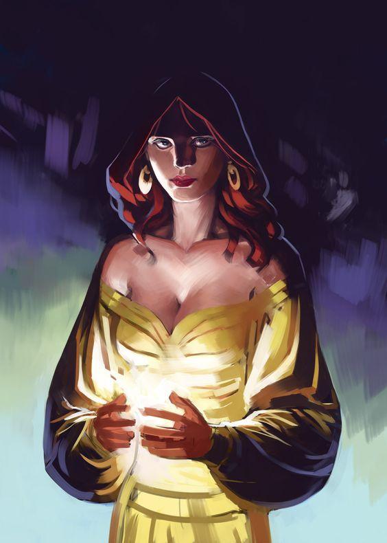 """Eliel Tamassir, meia celestial, portadora da luz, segunda geração Tamassir-Belarn. Desapareceu depois de uma expedição liderada por seu primo. Foi guardiã da """"Os Amanautor"""". Test by Nesskain.deviantart.com on @deviantART"""