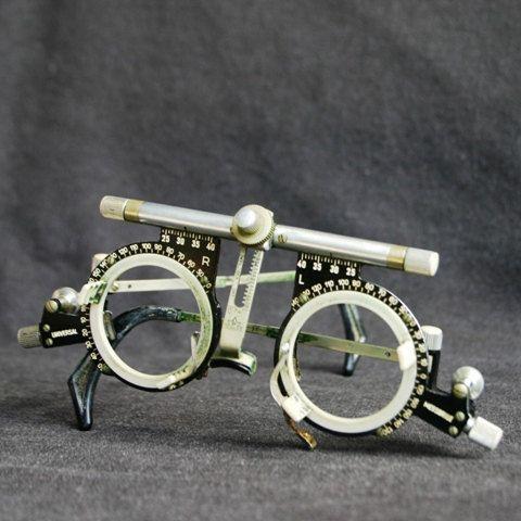 Eyeglass Frame Tester : Oculus universal glasses. Vintage optician trial lense ...